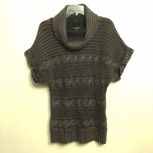 Nine West Jeans Brown Turtleneck Knitted Sweater